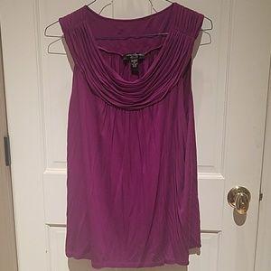 Beautiful plum colored blouse